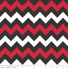 Medium Chevron Flannel Red/Bl.