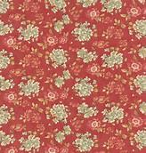 Larkspur Med Flower on Red