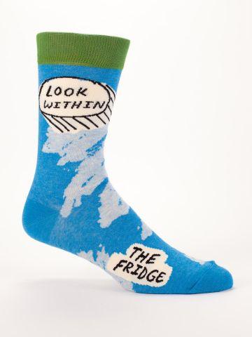 Men's Socks: Look within
