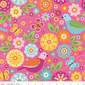 Summer Song 2 Flannel Lg Print