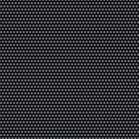 Uppercase Perforated Black Dots
