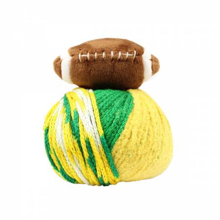 Top This! Green/Gold Football