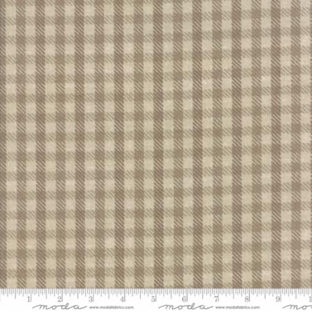 W & N IV Flannel Tan Check