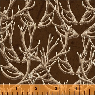 Forest Dk Brown Antlers