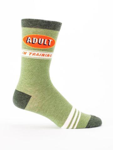 Men's Socks: Adult in Training