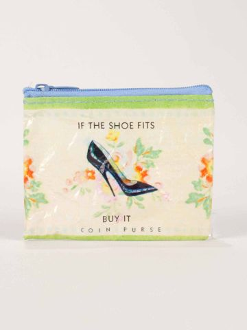 Coin Purse: If the Shoe Fits