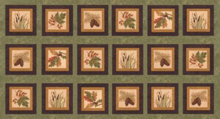 Fall Imp. Flannel Panel
