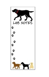 Note pad: Lab Notes
