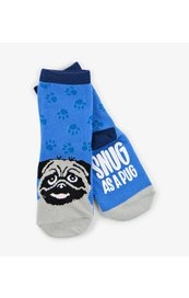 Kid's Socks: Snug as a Pug 4-7 years