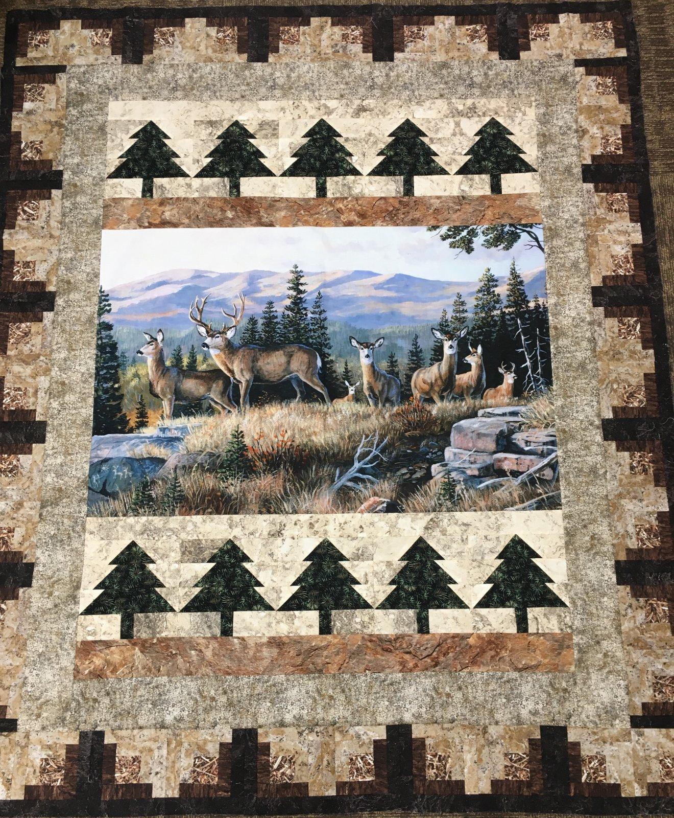 Mountain Stag Kit 60x72