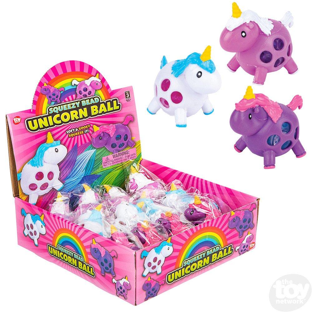 Squeezy Bead Unicorn Ball