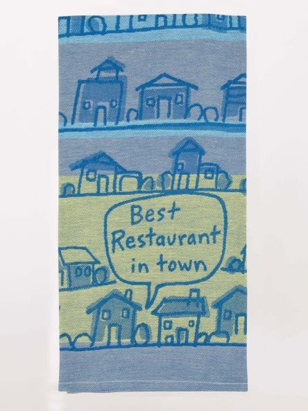 Dish Towel: Best Rest. in Town