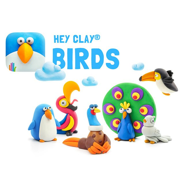 Hey Clay Birds