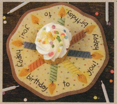 Birthday Candle Mat Kit
