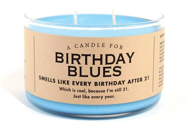 Candle for Birthday Blues