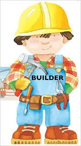 Builder Cut Out Book