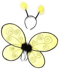 Glitter Bumblebee Set 4/7