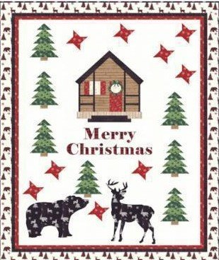 Christmas At the Cabin Kit 60x76