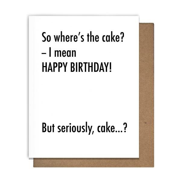 Cards: Bday Cake