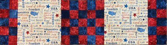 Checkered Past Kit 10.5 x 38 4th of July