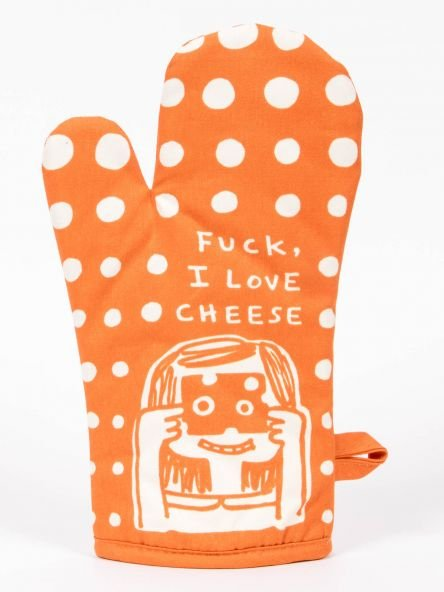 Oven Mitt: I love Cheese
