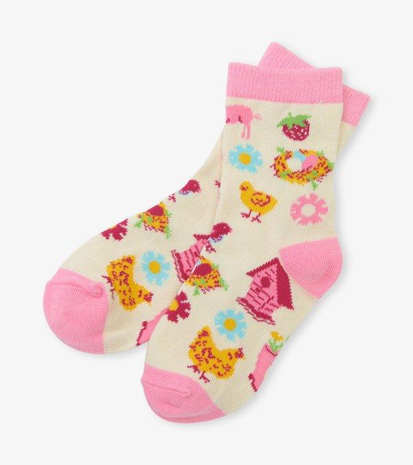 Country Living Socks 4-7 Yrs