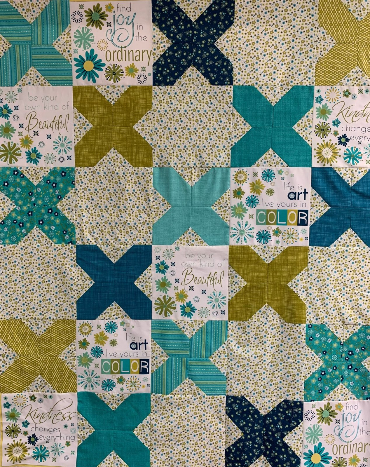 Cross Stitched Kit 50x60