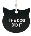 Cat's Meow Tag: The Dog Did It