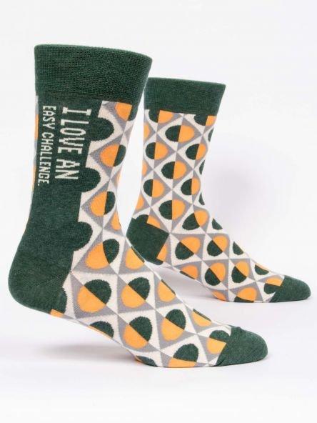 Men's Socks:  Love an easy challenge