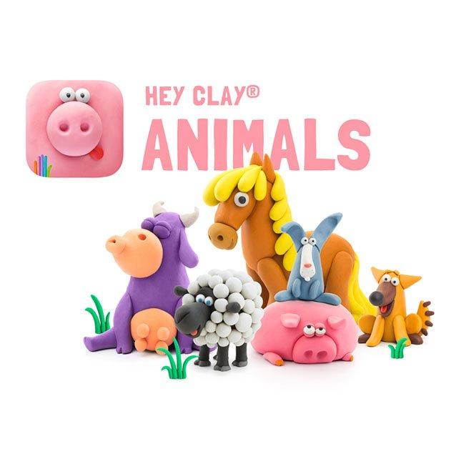 Hey Clay Farm Animals