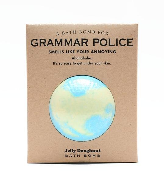 Bath Bomb for Grammar Police