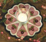 Hearts and Flowers Candle Mat Kit