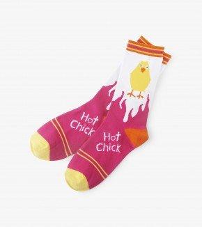 Women's Socks: Hot Chick
