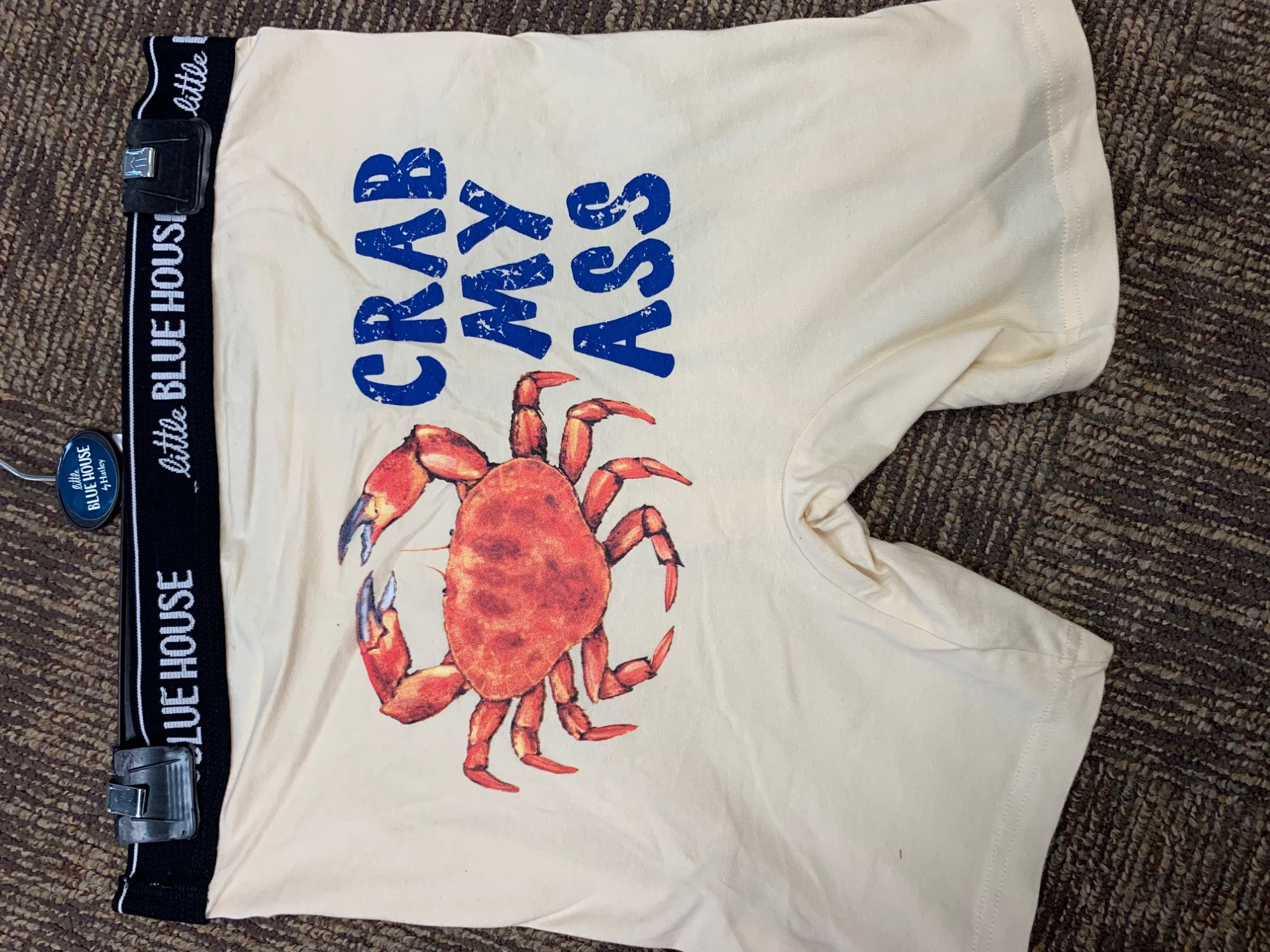 Boxer Briefs: Crab My Bum XL