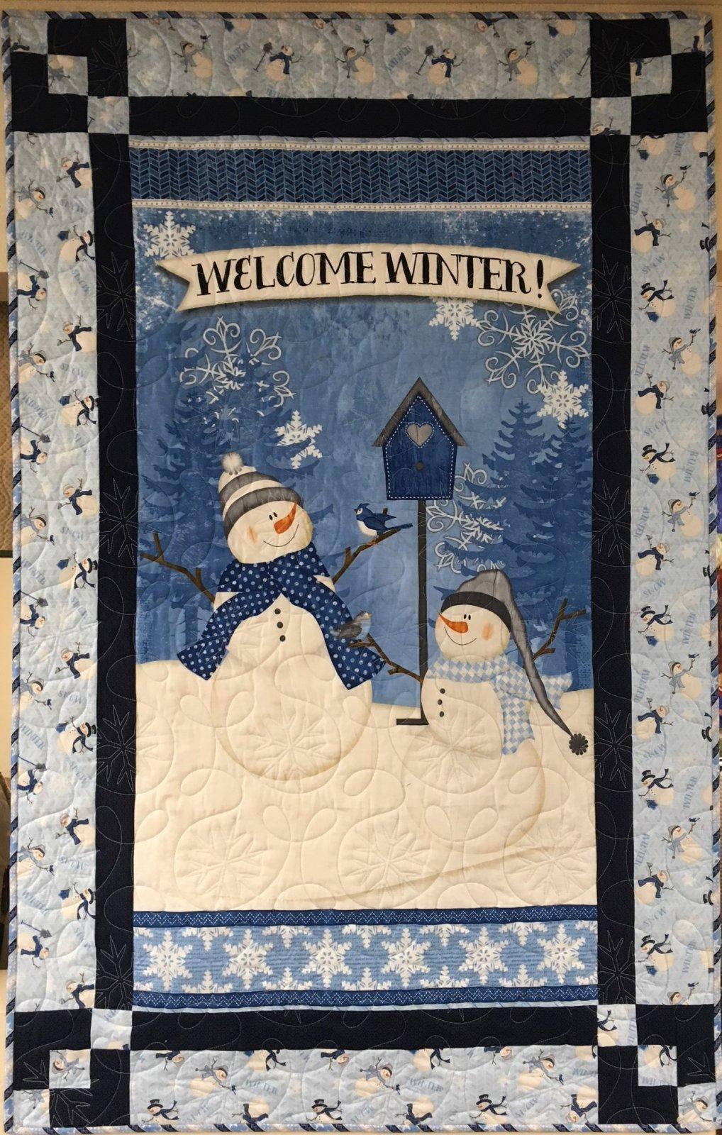 Panel Magic Snowman Kit 34.5x54