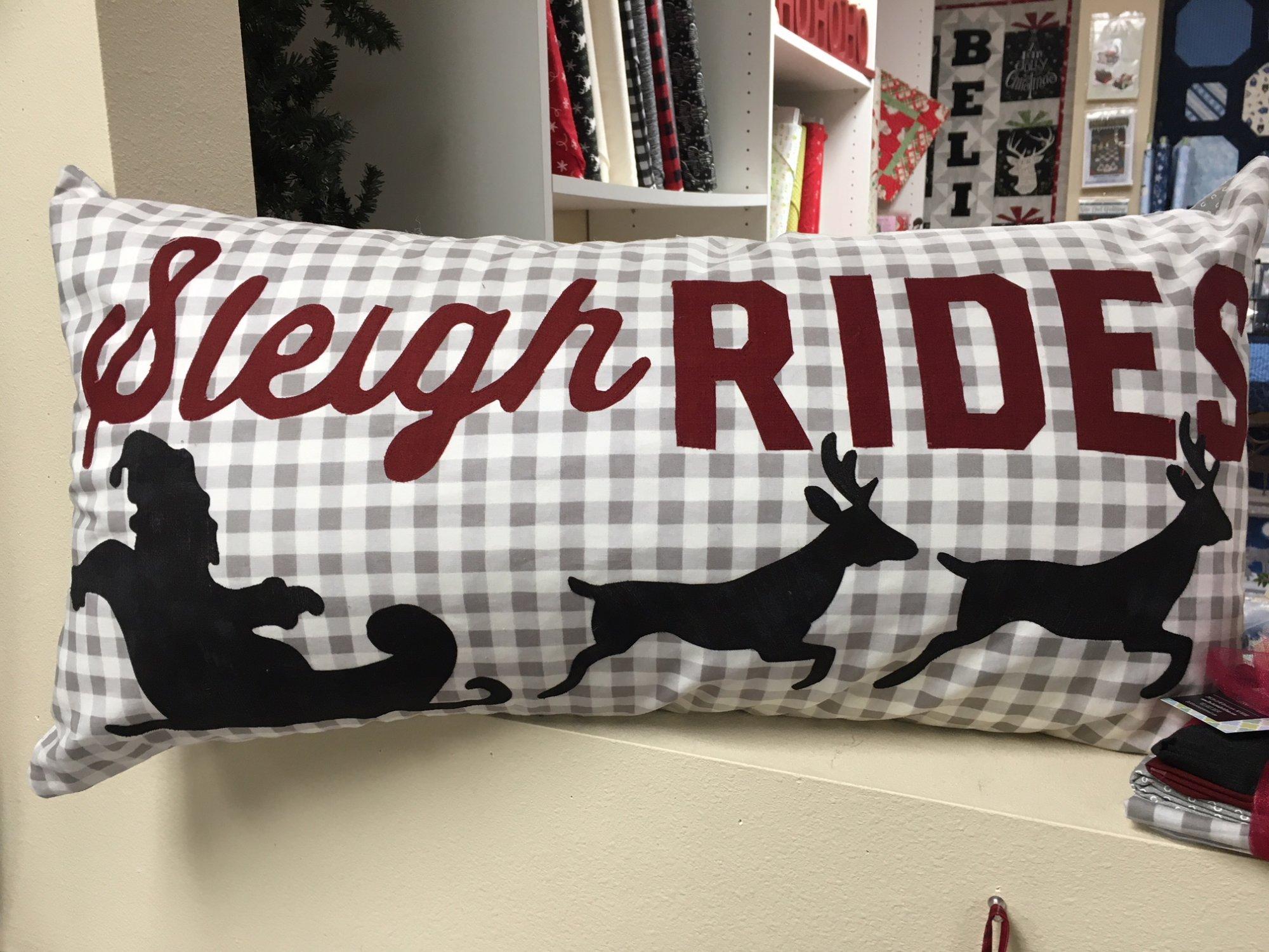 Sleigh Rides Kit 16.5x32.5