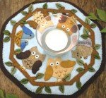 In the Woods Candle Mat Kit