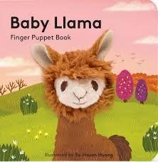 Baby Llama Finger Puppet Book