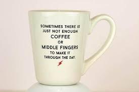 Mug- Middle Finger
