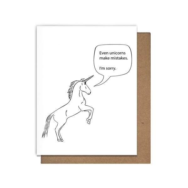 Cards: Unicorn Mistakes