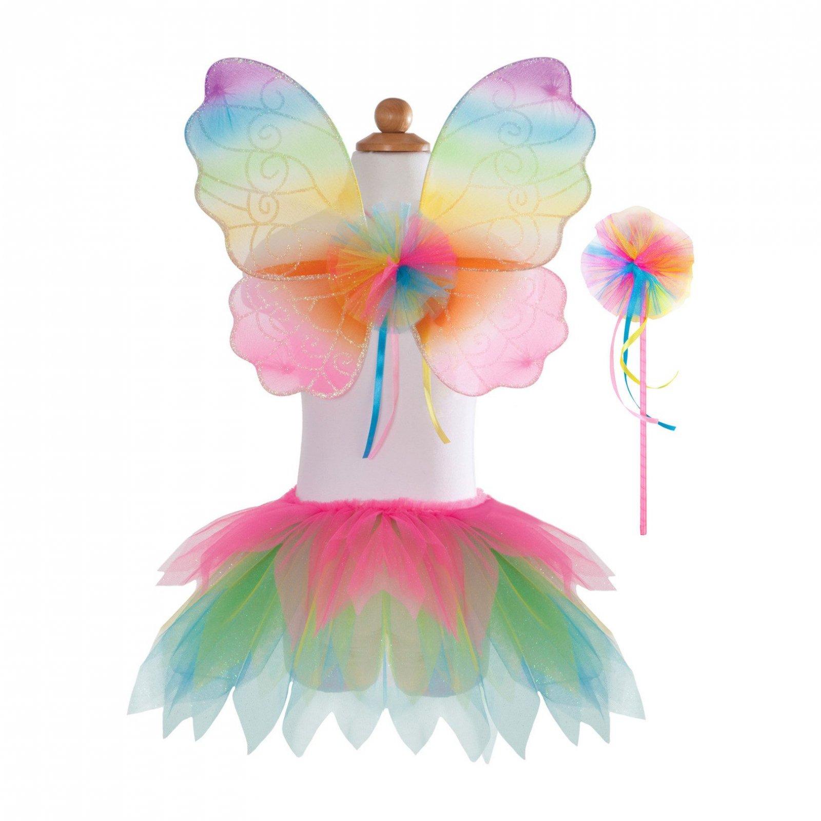 Neon Rainbow Skirt/Wings/Wand 4/7