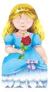 Princess Cut Out Book
