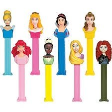 Pez Princesses Assorted Characters