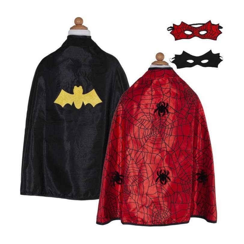 Spider/Bat Cape with Mask 4/7