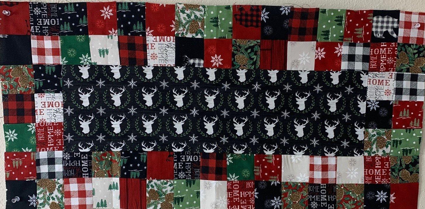 Scrap Happy Kit 14.5 x 30.5 Holiday Lodge