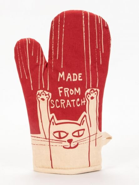 Oven Mitt:  Made from Scratch