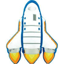 Space Shuttle Embroidered Bubblegu Scented Pillow