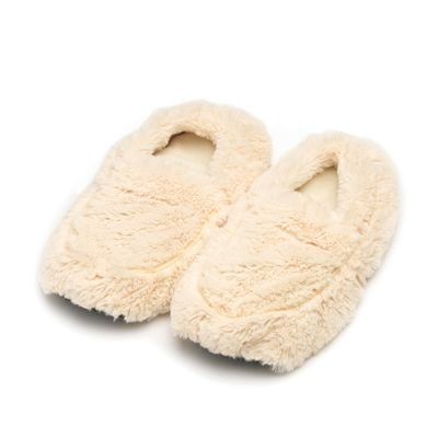Warmies Slippers Size 6-10 Cream