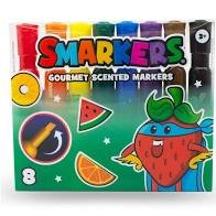 Smarkers 8 pk Large Barrel Scented Markers