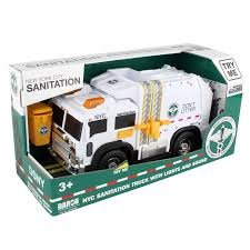 New York City Sanitation Truck with Lights and Sound